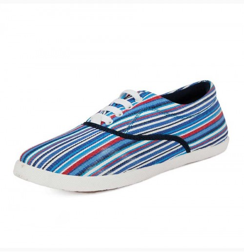 BLUE STRIPE Women's Shoes