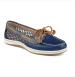 Sperry Women s Firefish Snake Mesh Boat Shoe Navy Blue
