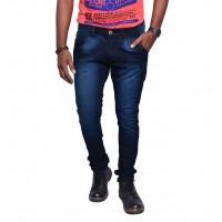 Jugend Dark Blue washed stretchable Skinny Fit Jeans for men
