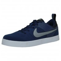 Nike Men's Liteforce III Royal Blue and Grey Sneakers