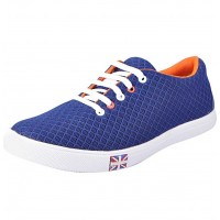 Step Men's Blue Casual Shoes