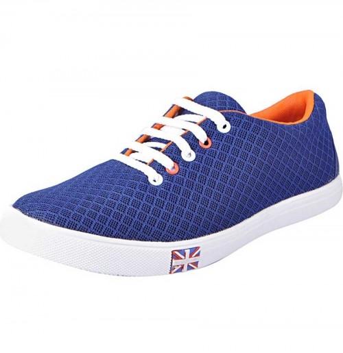 Step Men's Blue Casual Shoes
