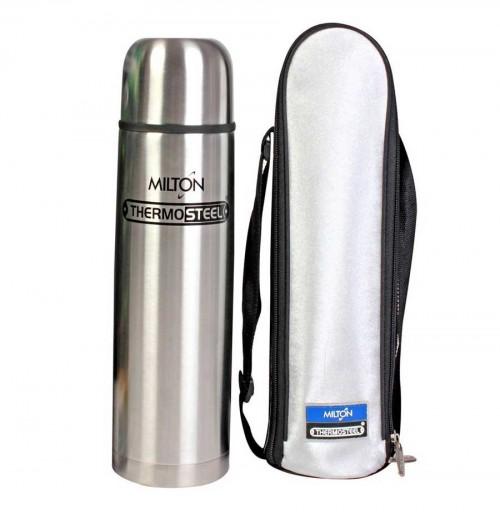 Milton Thermosteel Flip Lid Flask,