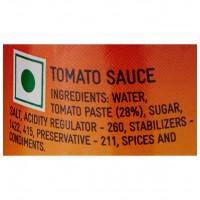 Kissan No Onion No Garlic Sauce Bottle
